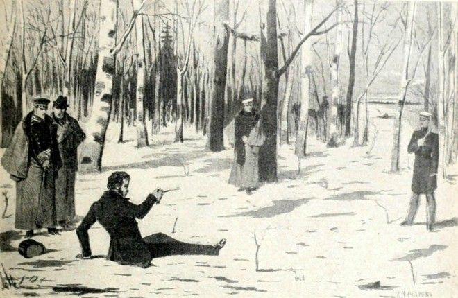 S4 факта о том как жил Дантес после дуэли с Пушкиным
