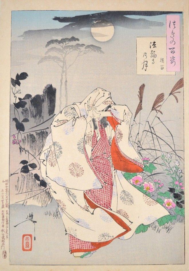 «Сто видов Луны» – величайшие гравюры мастера укиё-э Цукиока Ёситоси 12