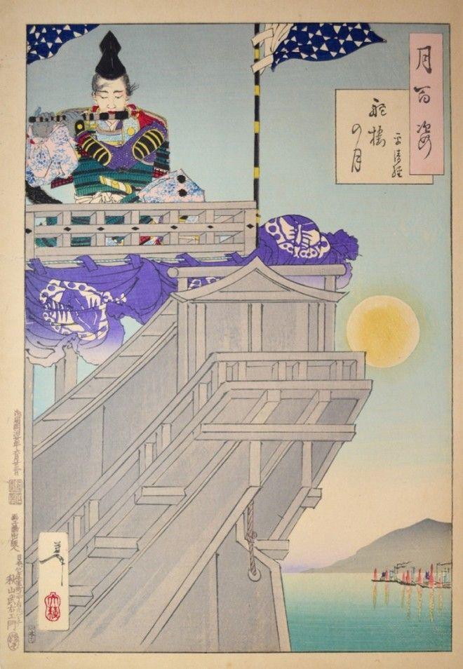 «Сто видов Луны» – величайшие гравюры мастера укиё-э Цукиока Ёситоси 17