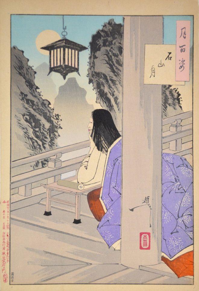 «Сто видов Луны» – величайшие гравюры мастера укиё-э Цукиока Ёситоси 3