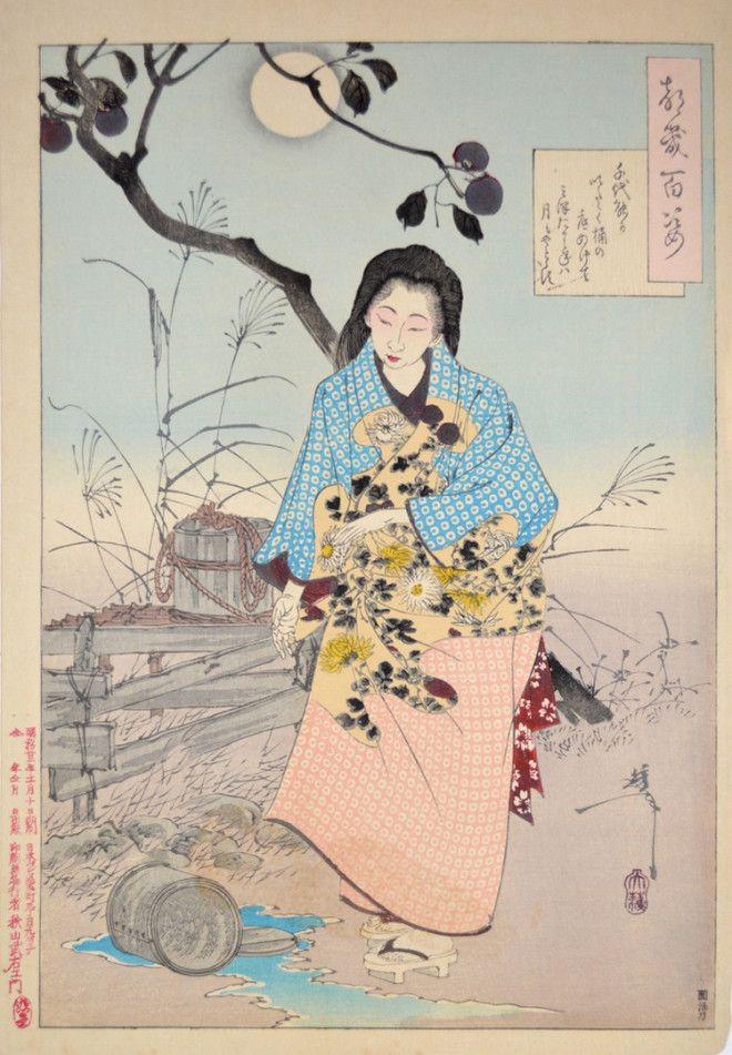 «Сто видов Луны» – величайшие гравюры мастера укиё-э Цукиока Ёситоси 6