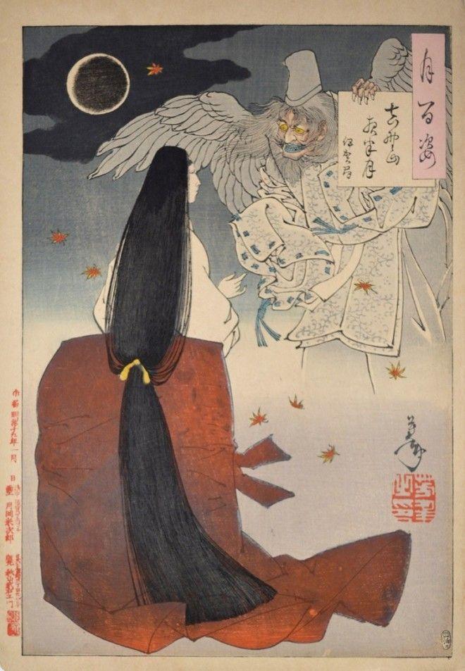 «Сто видов Луны» – величайшие гравюры мастера укиё-э Цукиока Ёситоси 7