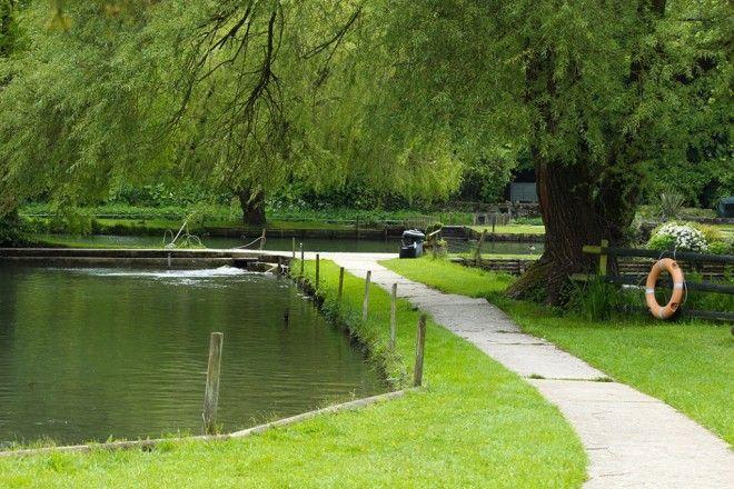 Байбери – самая красивая деревня в Англии 11