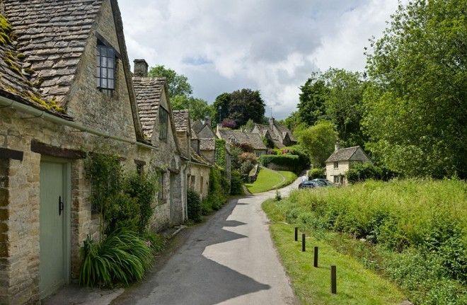 Байбери – самая красивая деревня в Англии 18