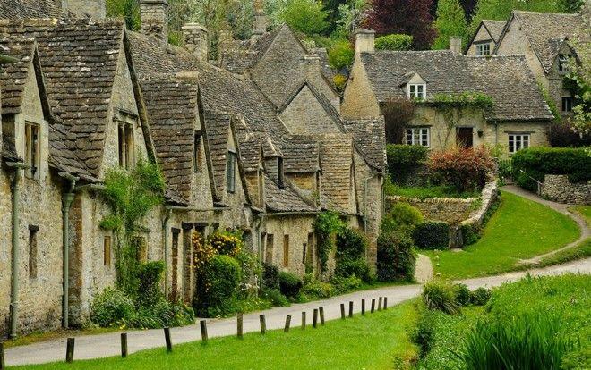 Байбери самая красивая деревня в Англии 1