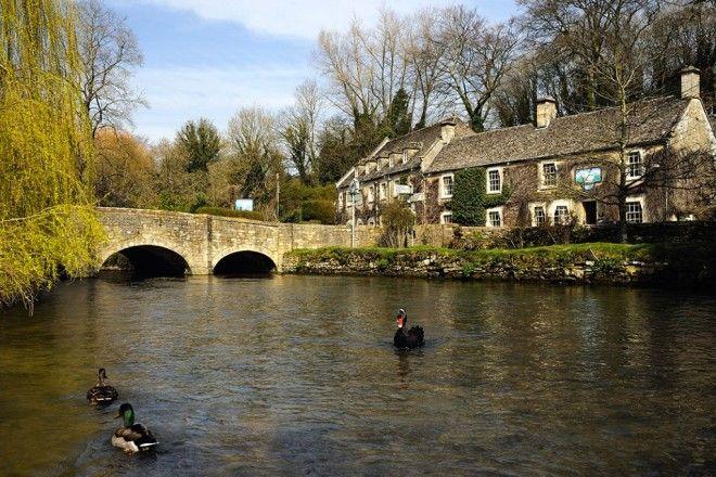 Байбери – самая красивая деревня в Англии 2