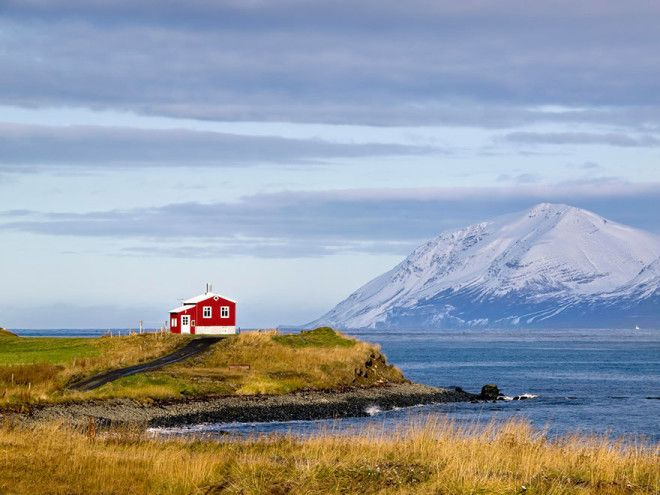 Little Red House Iceland