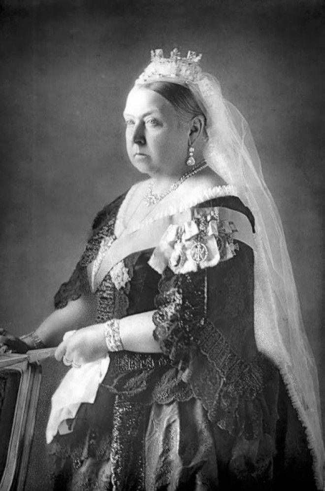 Королева Виктория живой символ своей эпохи Фото pinterestpt