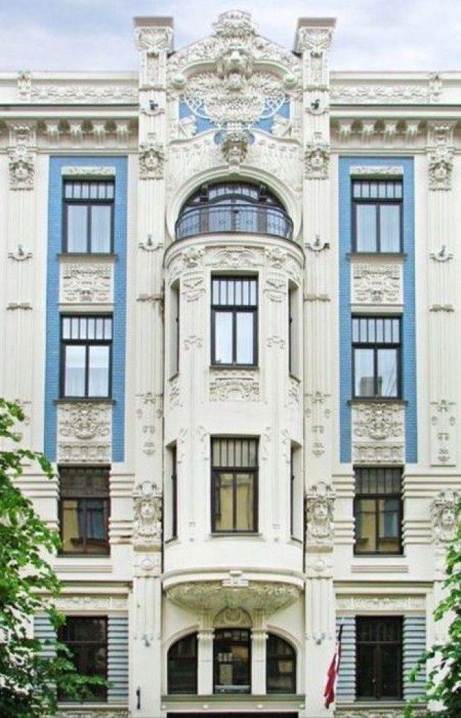 Здание на улице Альберта построенное по проекту Михаил Эйзенштейна