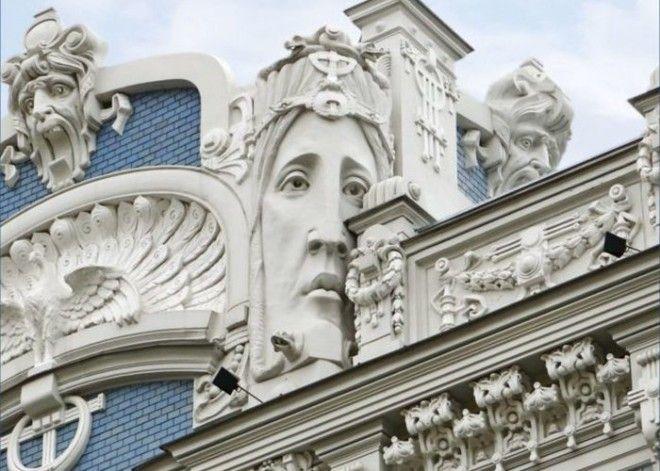 Деталь здания проект ЖанПьера Далбер Париж