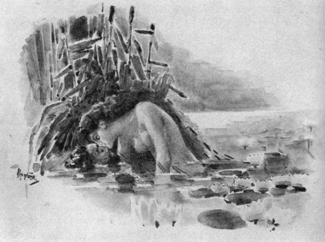 Рисунки Михаила Врубеля 16