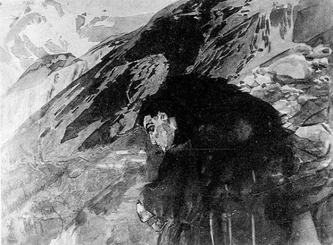 Рисунки Михаила Врубеля 17