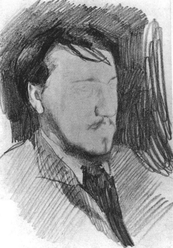 Рисунки Михаила Врубеля 18