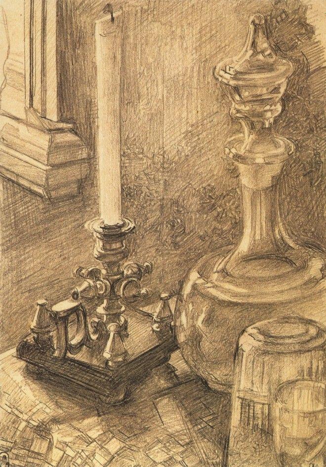 Рисунки Михаила Врубеля 24