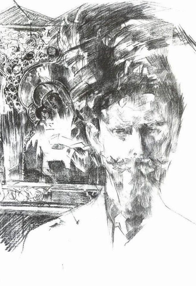 Рисунки Михаила Врубеля 28