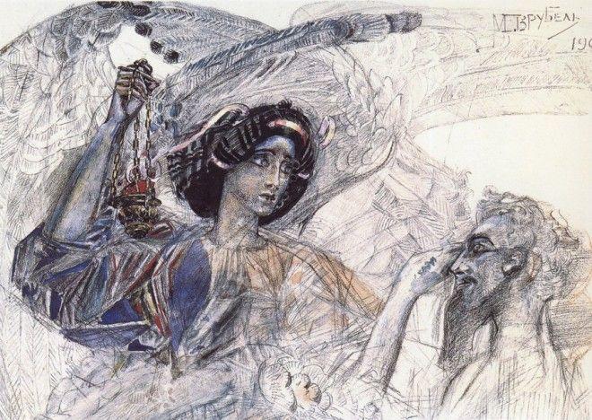 Рисунки Михаила Врубеля 34