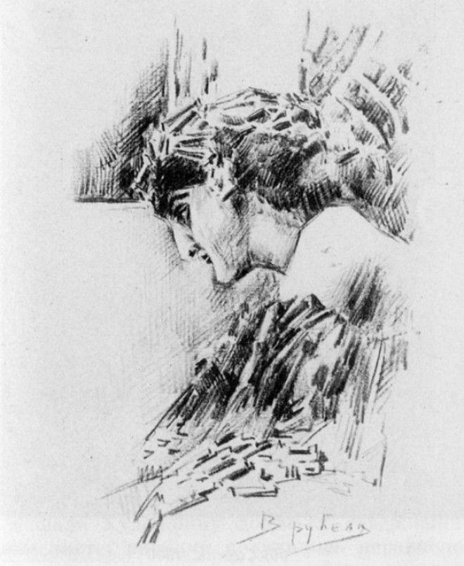 Рисунки Михаила Врубеля 3