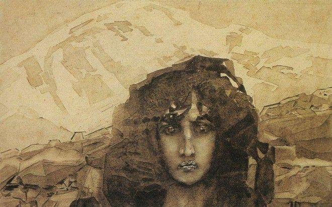 Рисунки Михаила Врубеля 40