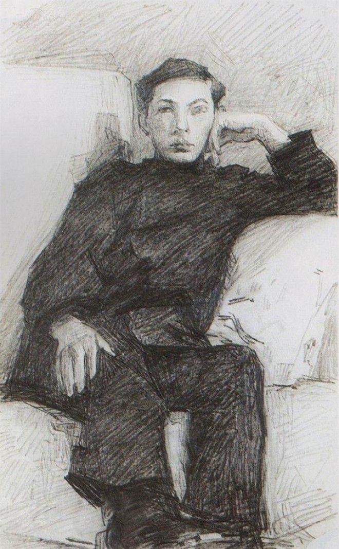 Рисунки Михаила Врубеля 44