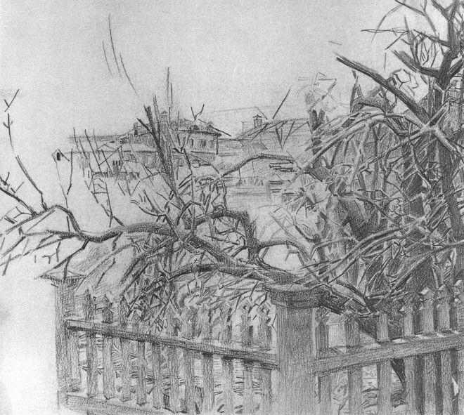 Рисунки Михаила Врубеля 46