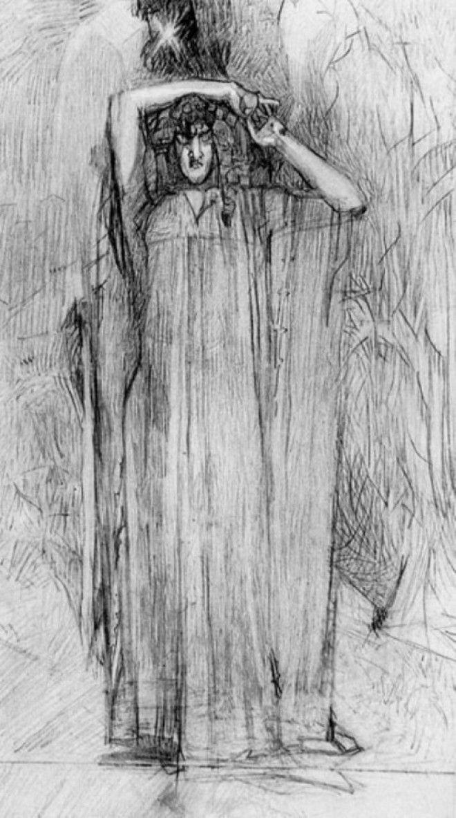 Рисунки Михаила Врубеля 4