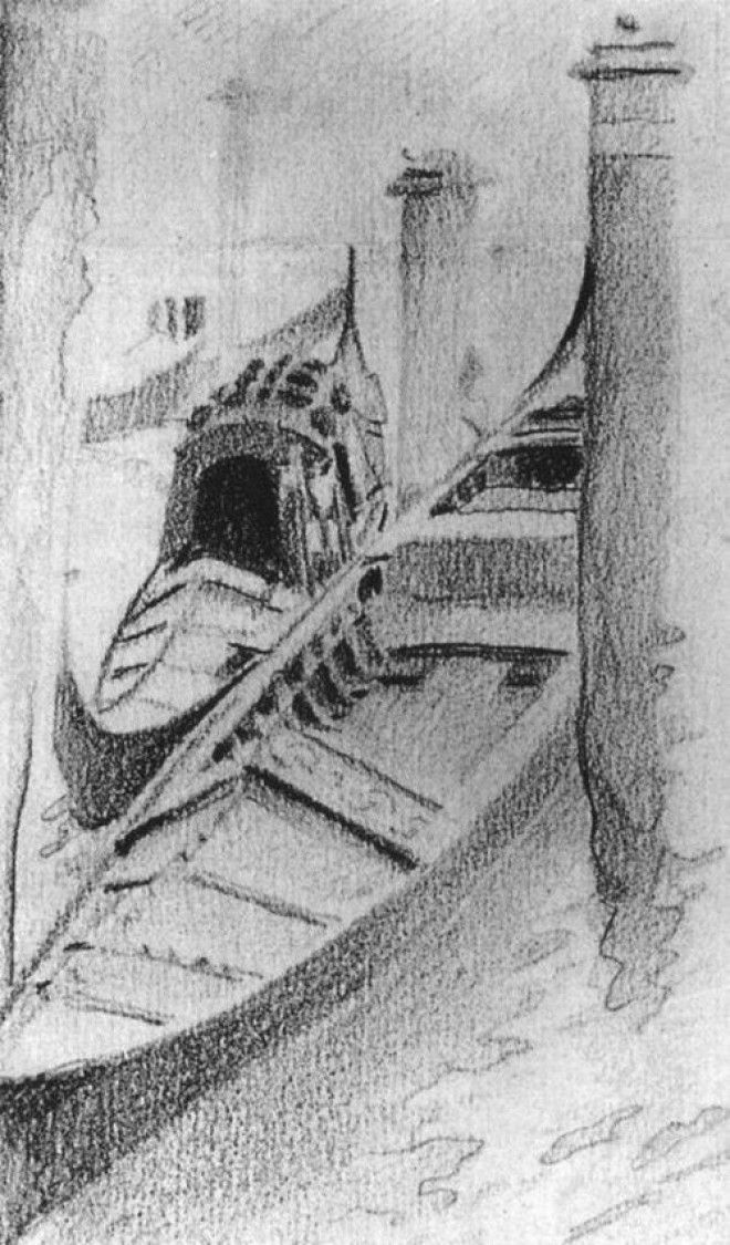 Рисунки Михаила Врубеля 8