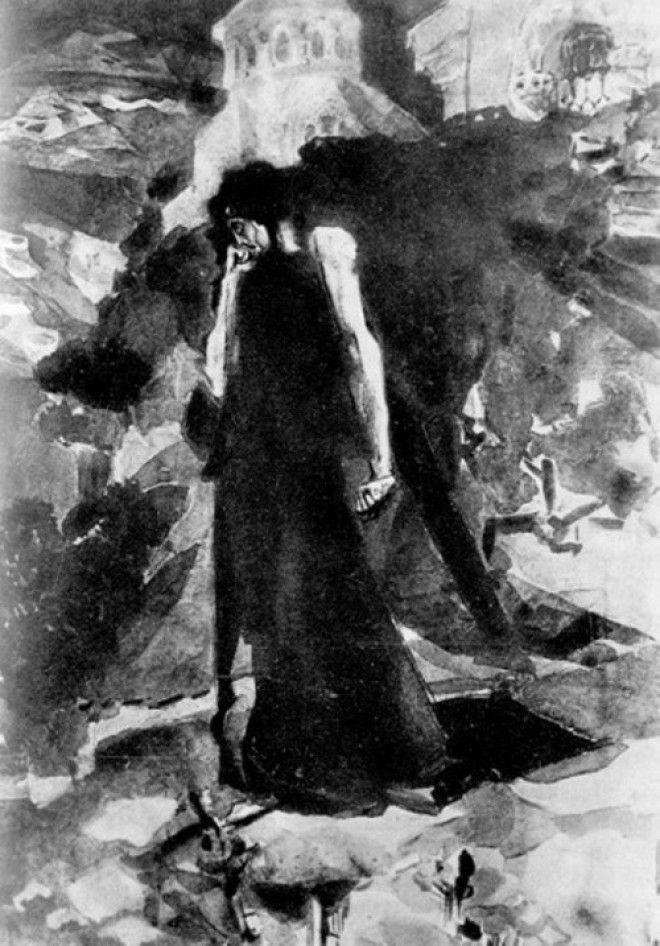 Рисунки Михаила Врубеля 9