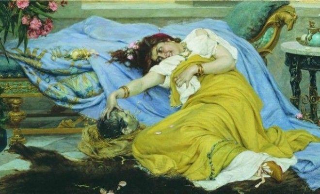 Фульвия с головой Цицерона П Сведомский конец XIX века Фото ruwikipediaorg