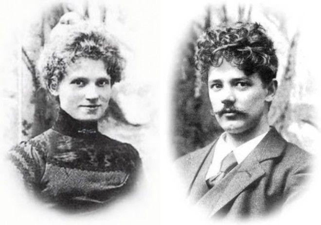 Скульптор Эдвард Эриксен и его жена Элине dayonlineru