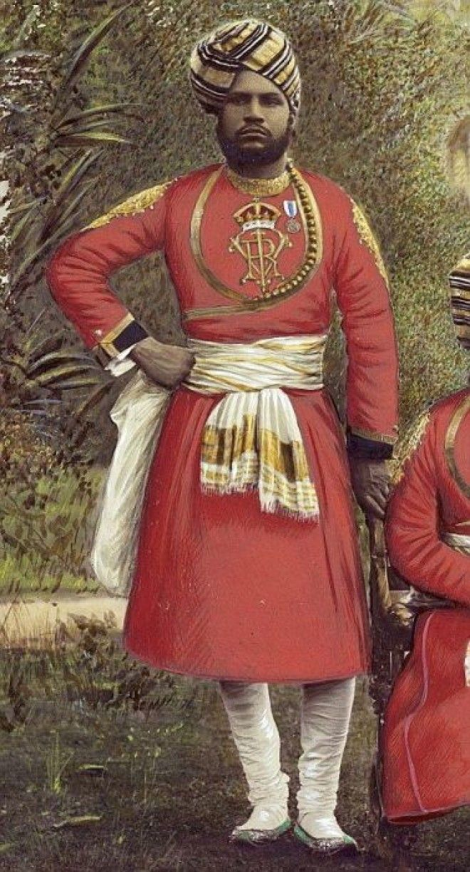 Абдул Карим слуга и помощник королевы Великобритании Фото pinterestcom