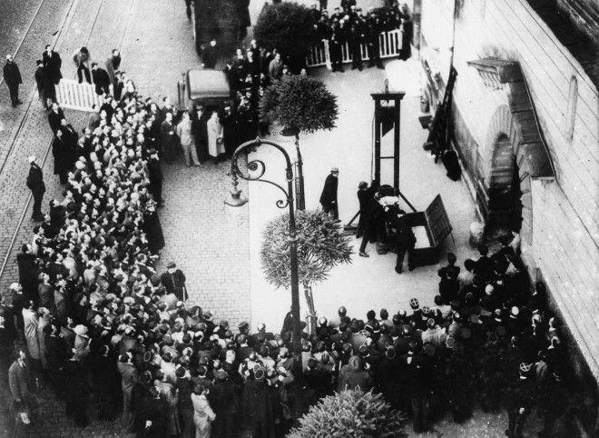 История последнего публичного гильотинирования во Франции