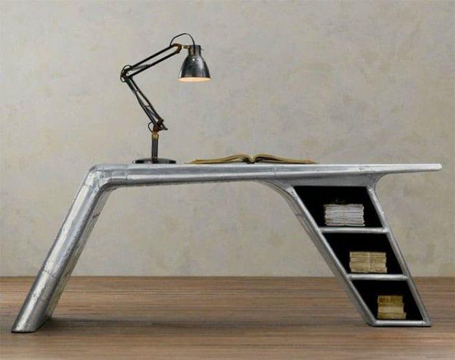 Братья Райт в шоке 16 самых улётных предметов мебели из запчастей самолета