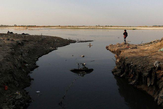 Река Ганг от кристальной чистоты до ужасного загрязнения