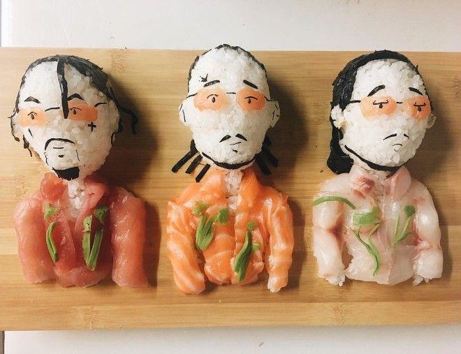 Уникальные суши от шефповара из Милана