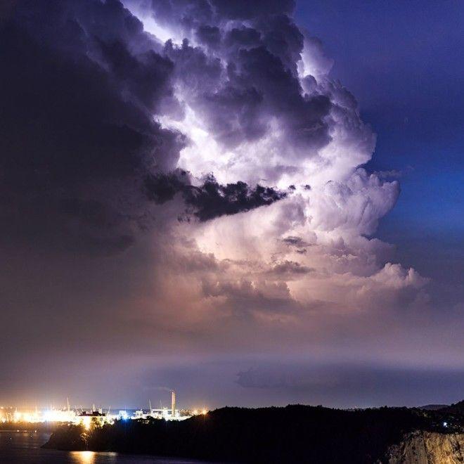Поразительные стихии природы