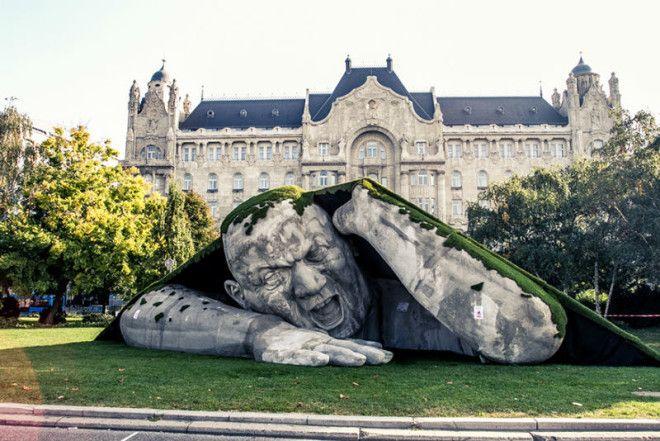 19 скульптур которые неподвластны законам физики