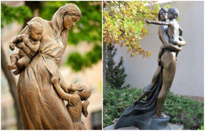 B12 волшебных памятников нашим мамам они это заслужили