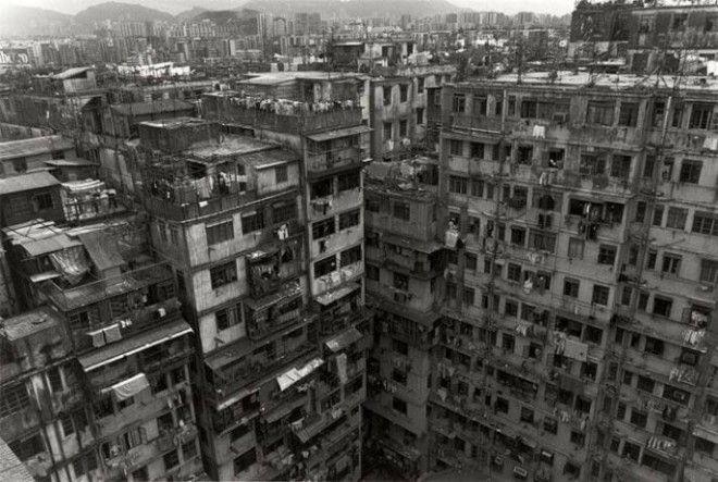 Lоулун городлабиринт Такой плотности населения вы не увидите нигде в мире
