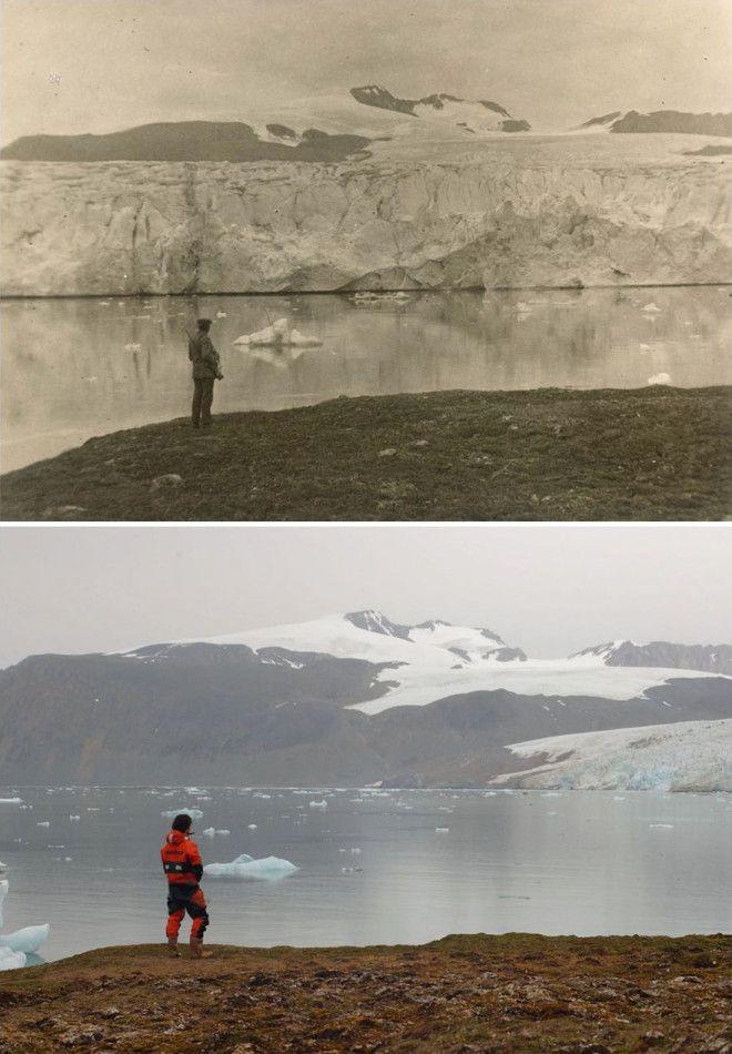 Изменения ледников за последние 100 лет
