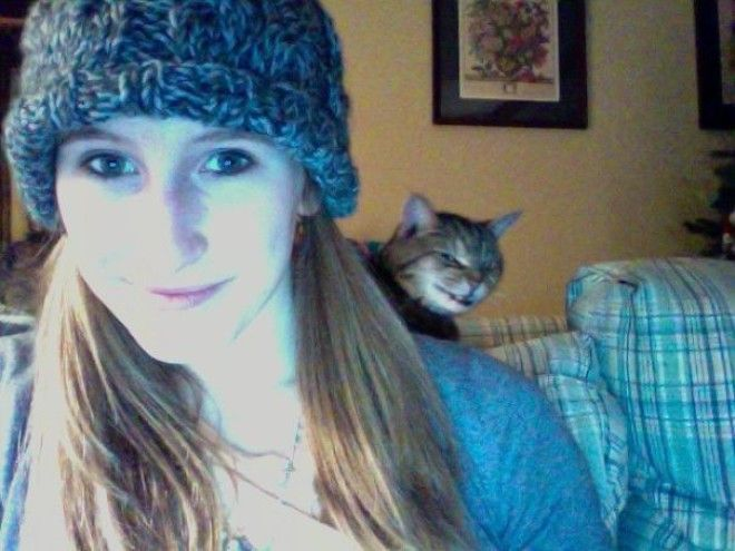 Photobooth Photo Bomb By My Cat