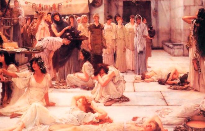 Sочему в Древнем Риме проститутки должны были краситься в светлый или рыжий