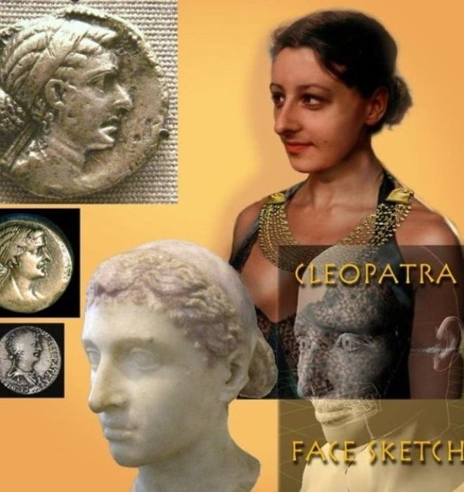 Царица Египта вот как на самом деле выглядела Клеопатра