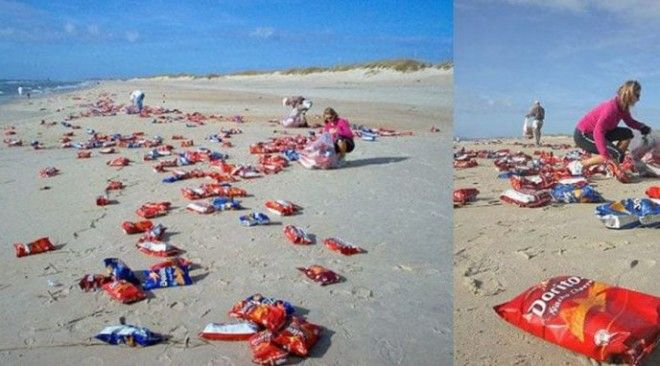 B5 самых странных вещей которые были найдены на пляже