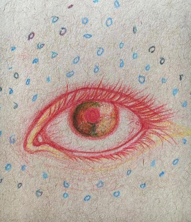 Девушка с шизофренией рисует галлюцинации художница с шизофренией рисует свои галлюцинации
