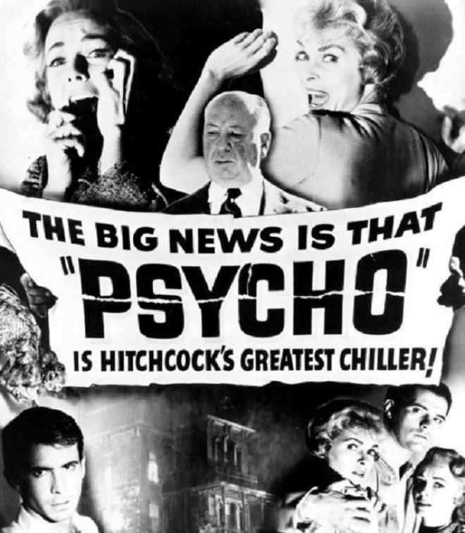 Реклама фильма Психо