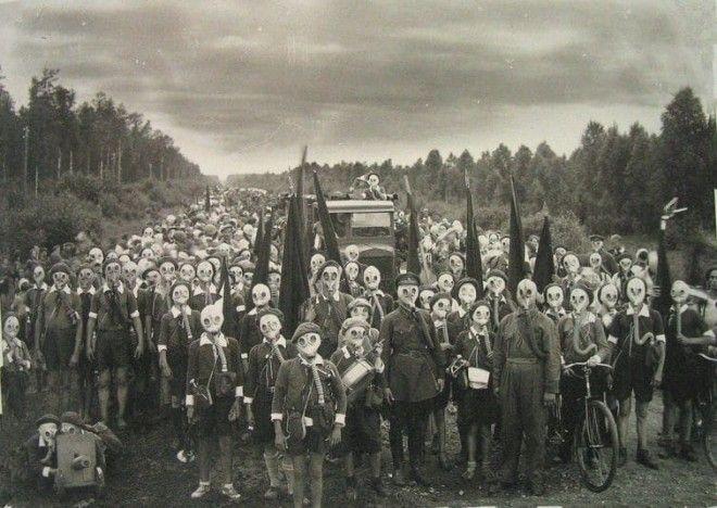 20 вполне обычных исторических фото которые вызывают животный ужас