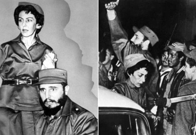 Селия Санчес и Фидель Кастро Фото kommersantru и liberationfr