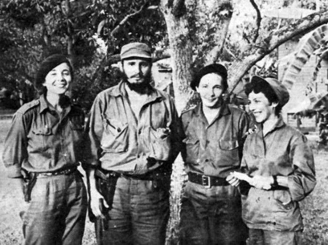 Селия Санчес и Фидель Кастро Фото cubagoodcom