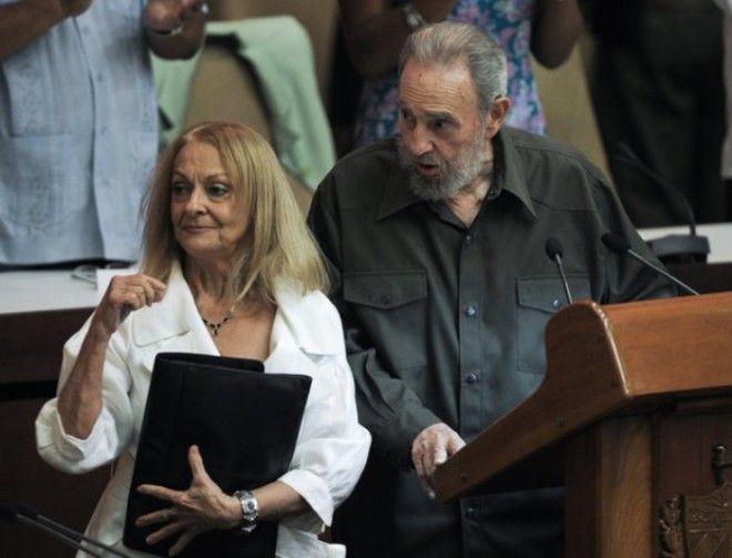 Далия Сото дель Валье и Фидель Кастро Фото newtimesru