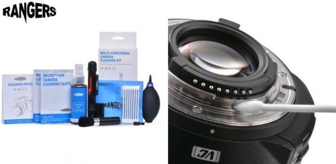 Набор для чистки фотоаппарата